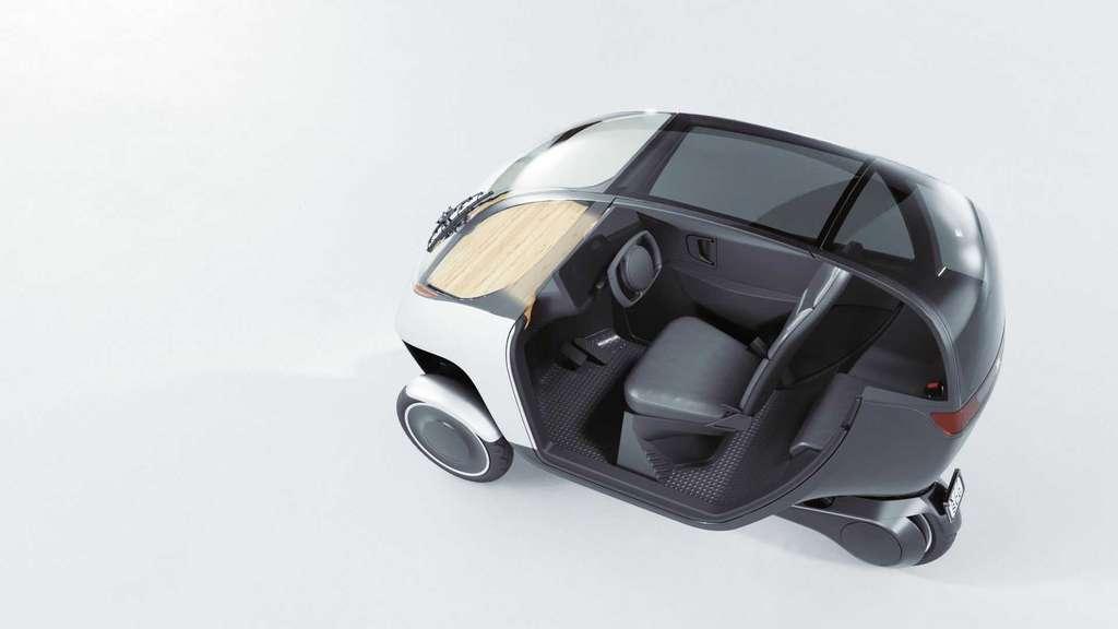 Le Nimbus Halo est équipé d'un airbag frontal et de deux airbags latéraux. © Nimbus