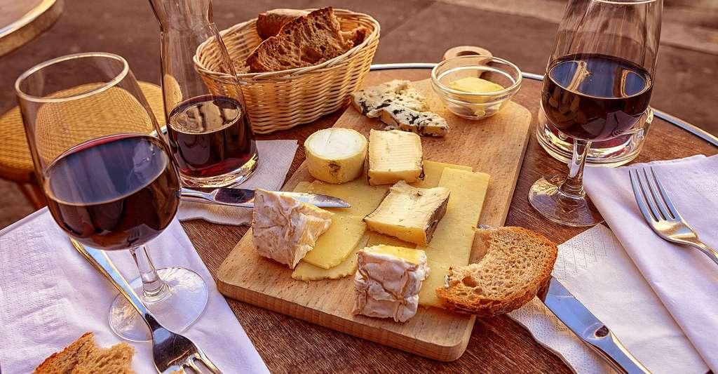 Plateau de divers fromages. Quels sont les labels en France ? © Skeeze, DP