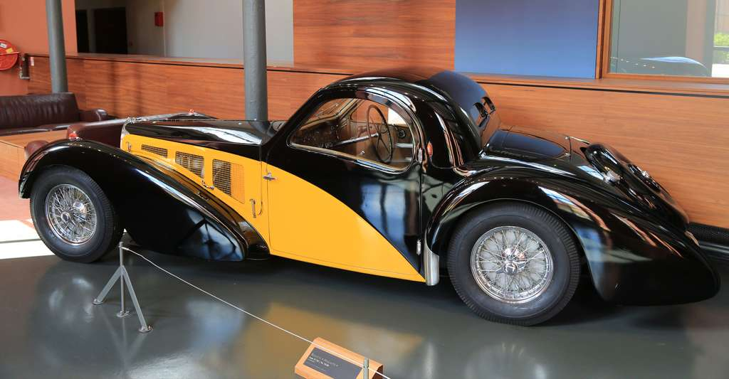 Musée de l'automobile - Mulhouse - Bugatti - BH5A6099. © Questa ta, Wikimedia commons, CC by 2.0
