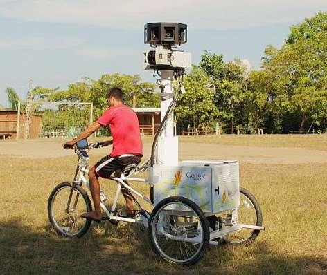 Un vélo pour Google