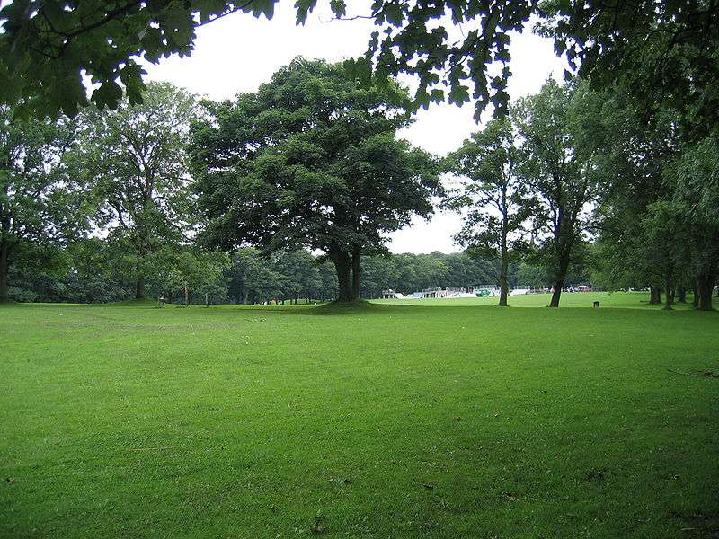 Woodhouse Moor Park, Leeds, West Yorkshire. © Chemical engineer - domaine public
