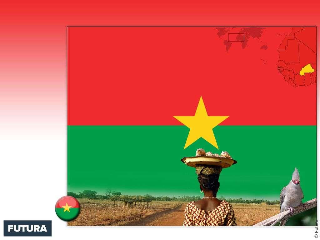 Drapeau : République du Burkina