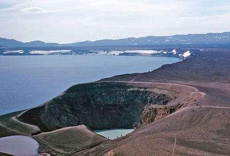 Panorama d'Askja. © Wikipédia