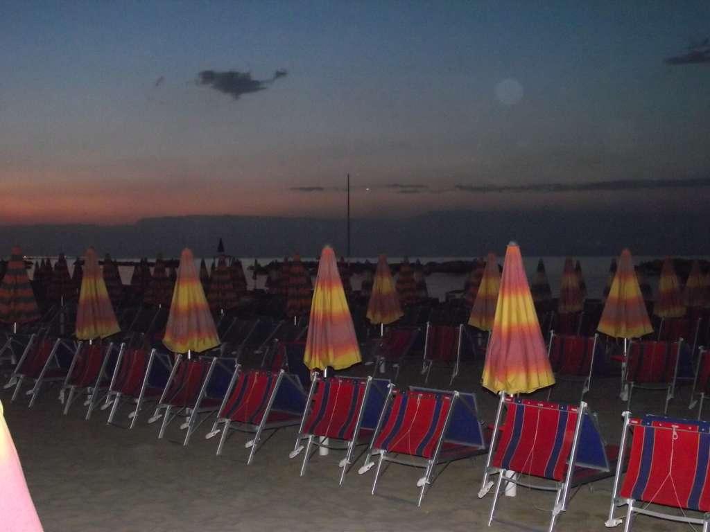Coucher de soleil italien