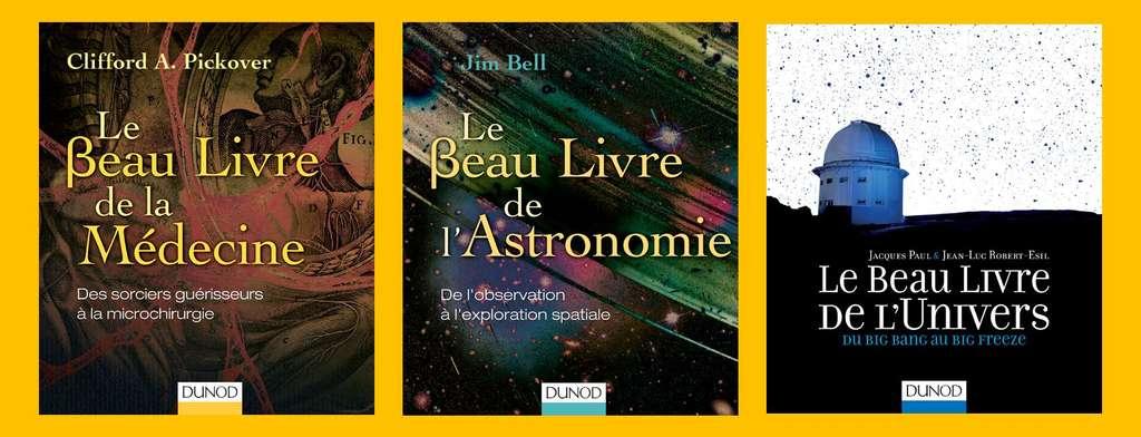 Trois ouvrages de la collection. © Dunod