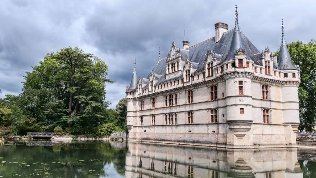 Le château aquatique d'Azay-le-Rideau
