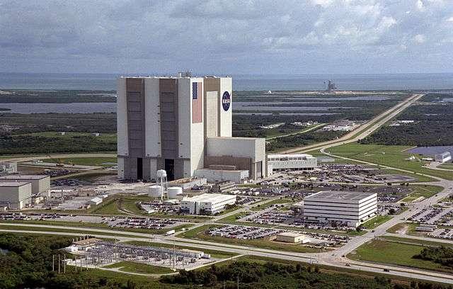 Le Kennedy Space Center, en Floride, est une base de lancement située à proximité de Cap Canaveral. © Nasa
