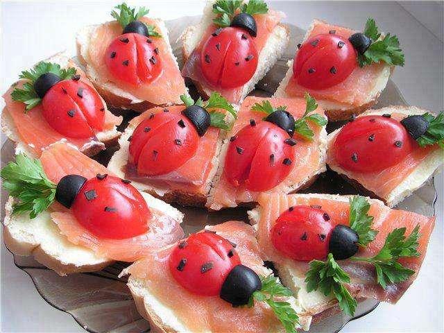 Des tomates en coccinelles
