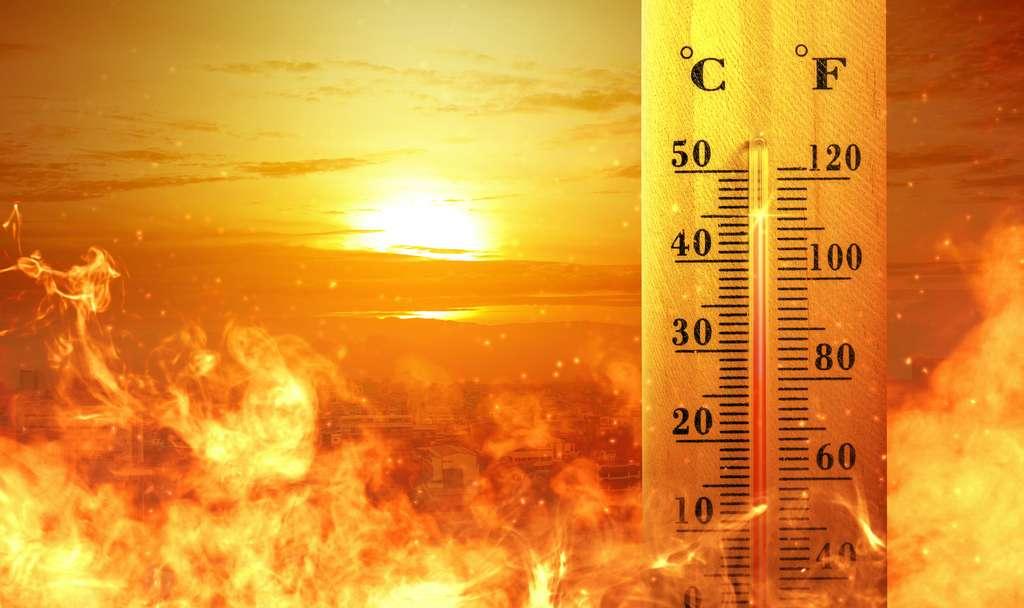 Sous l'effet du changement climatique, les températures de l'atmosphère de notre Terre augmentent. © Leo Lintang, Adobe Stock