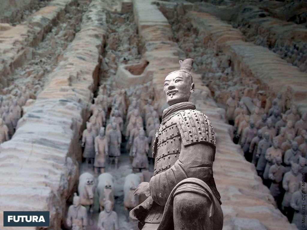 Mausolée de l'empereur Qin - Armée de terre cuite