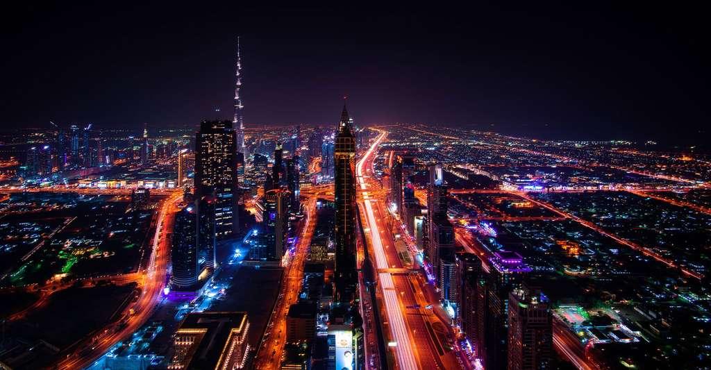 Quelles sont les grandes idées qui ont révolutionné l'architecture ? Ici, paysage urbain de Dubaï. © Bulletrain743, Pixbay, DP