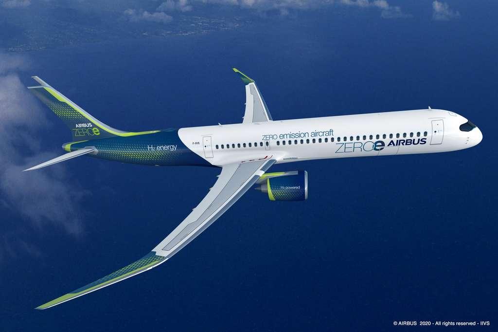 Premier concept : le Turbofan. © Airbus