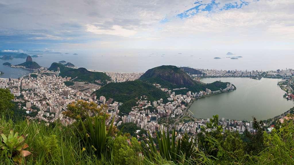 Panorama sur Rio de Janeiro
