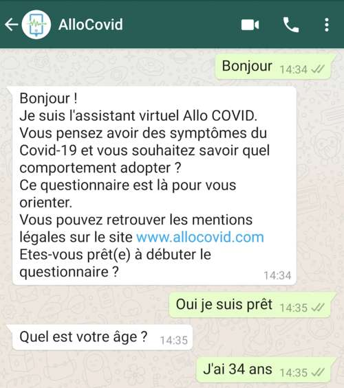 Pour les sourds et malentendants, AlloCovid sera bientôt disponible sur Whatsapp pour discuter par écrit. © Inserm