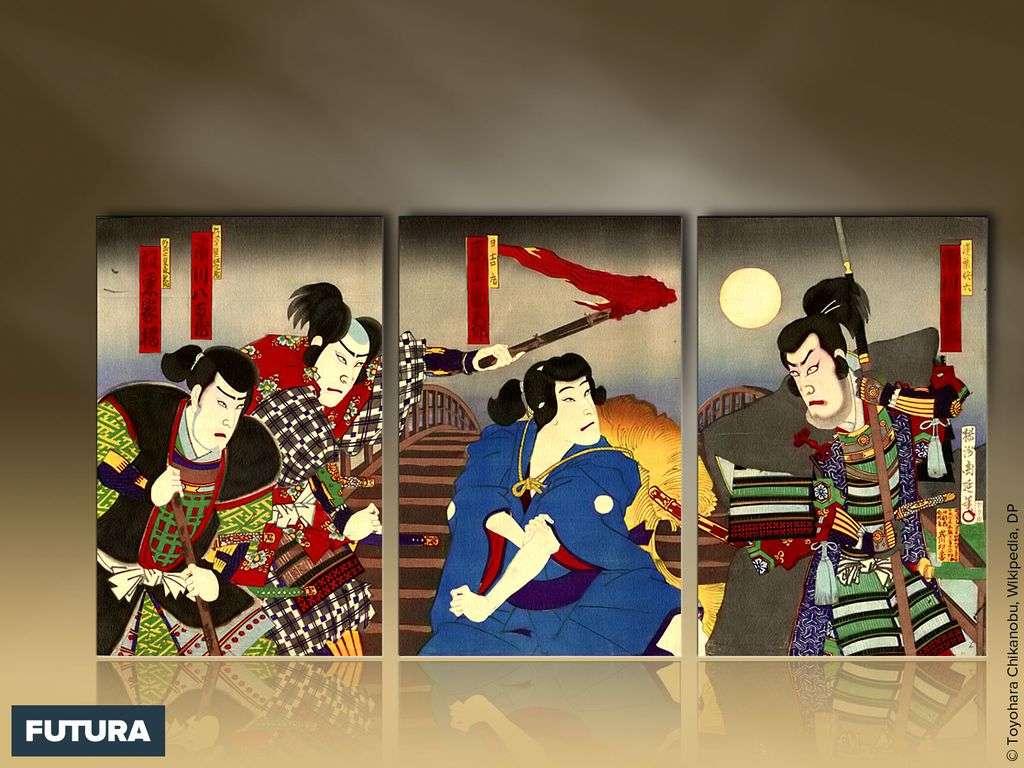 Japon : le kabuki la forme épique du théâtre japonais traditionnel