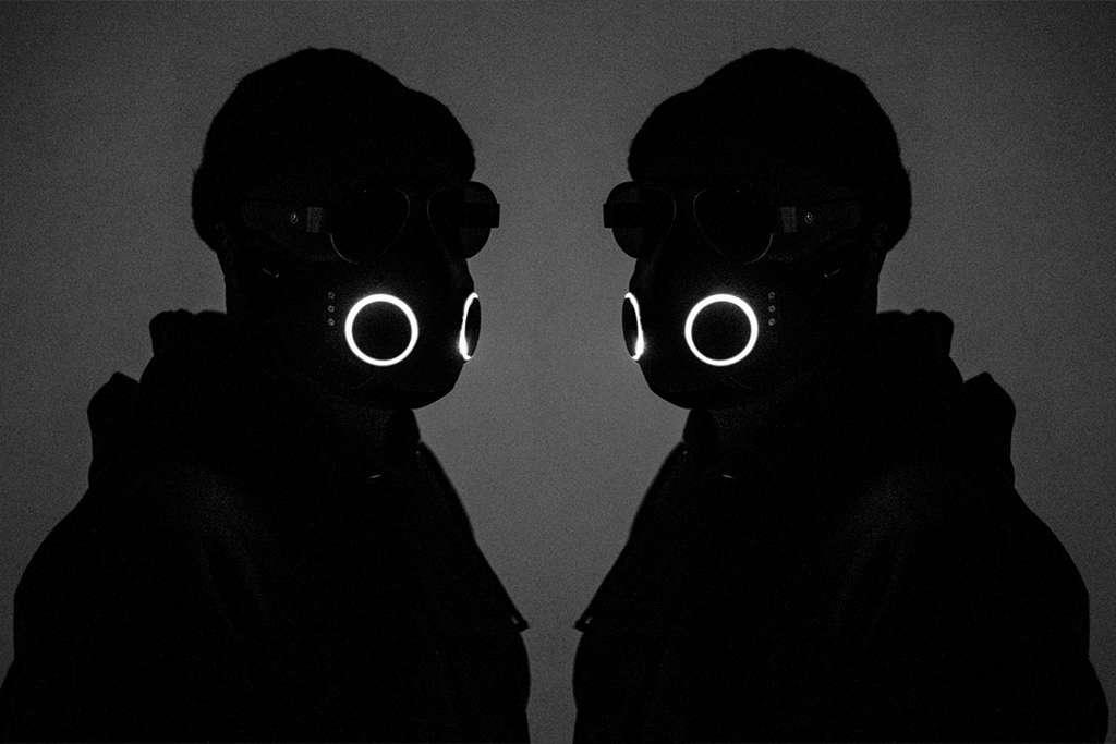 Des LED permettent d'illuminer le masque. © Honeywell