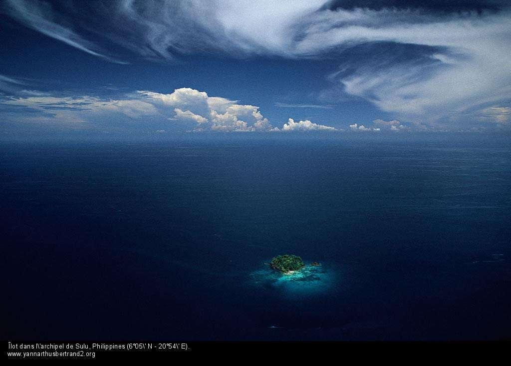 Îlot dans l'archipel de Sulu