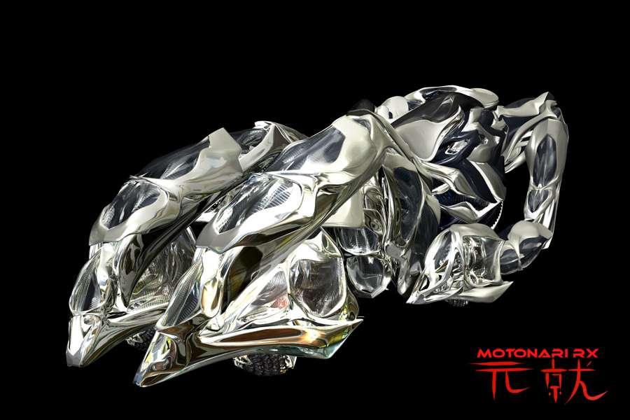 Mazda Mori Motonari RX, en position dépliée