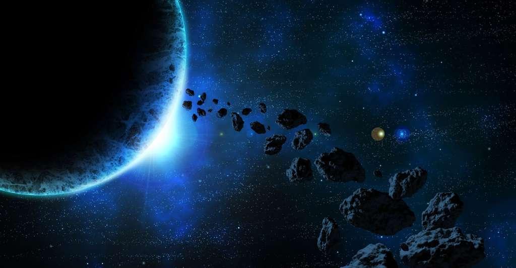 Tout au long de son histoire, la cosmologie nous a poussés à nous interroger sur la place de l'Homme dans l'Univers. © UKT2, DP