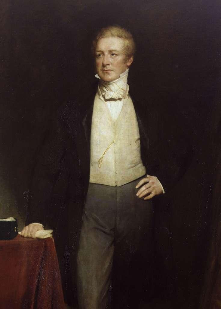 Portrait de Sir Robert Peel par Henry William Pickersgill, XIXe siècle. National Portrait Gallery, Londres. © Wikimedia Commons, domaine public.