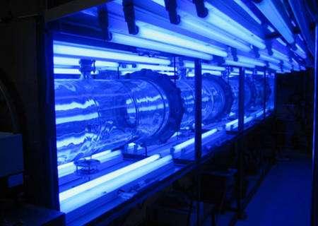 Figure 8 : Chambre de réactionnelle atmosphérique où sont simulées les réactions chimiques atmosphériques © J. Savarino