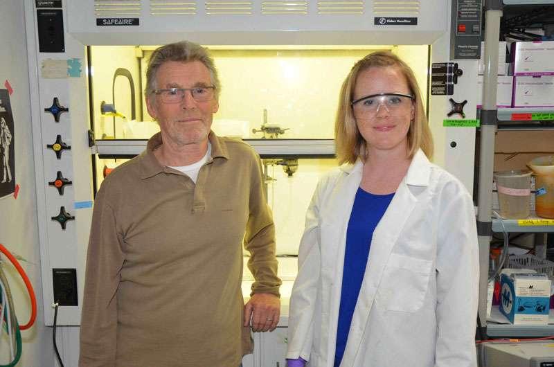 Michael Russell et Laurie Barge du Jet Propulsion Laboratory de la Nasa, Pasadena (Californie), sont représentés dans leur laboratoire Icy Worlds, où ils imitent les conditions de la Terre il y a des milliards d'années, essayant de répondre à la question de savoir comment la vie est apparue pour la première fois. L'équipe Icy Worlds fait partie de l'Astrobiology Institute de la Nasa, basé au centre de recherche Ames de la Nasa à Moffett Field, en Californie. © Nasa/JPL-Caltech