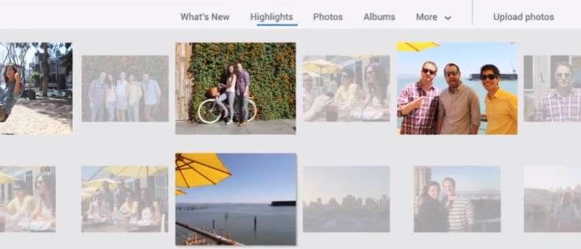 Google+ peut se charger de trier lui-même les photos prises avec un mobile et transférée sur l'espace en ligne. C'est la fonction Highlights qui écarte les doublons, les photos floues, mal exposées et met en avant celles où apparaissent des personnes, des monuments ou des paysages. © Google