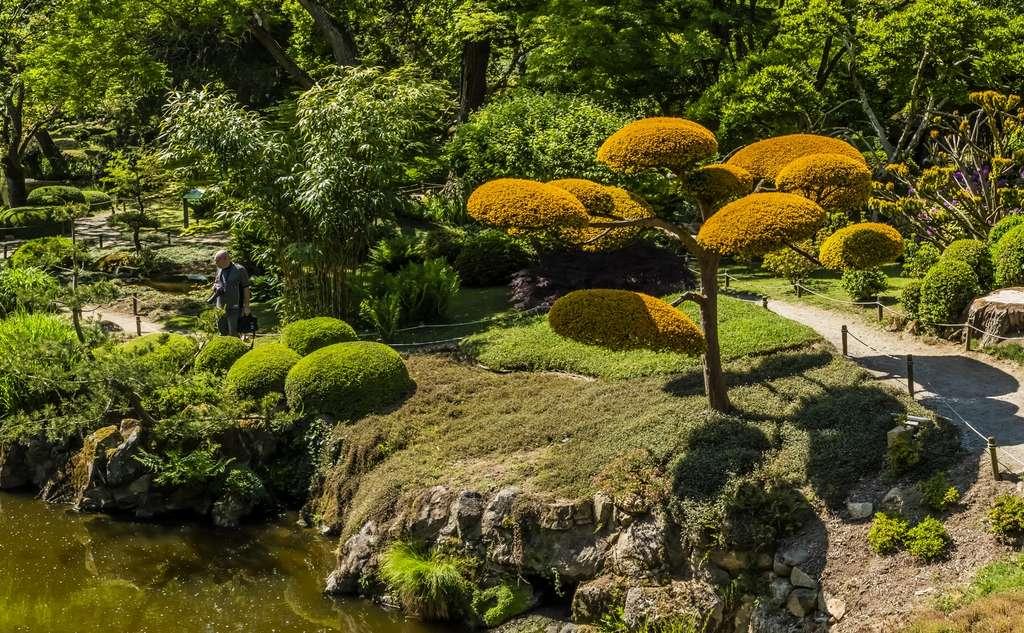 Le jardin de Maulevrier dans le Maine-et-Loire. © Michel Martinet, Flickr