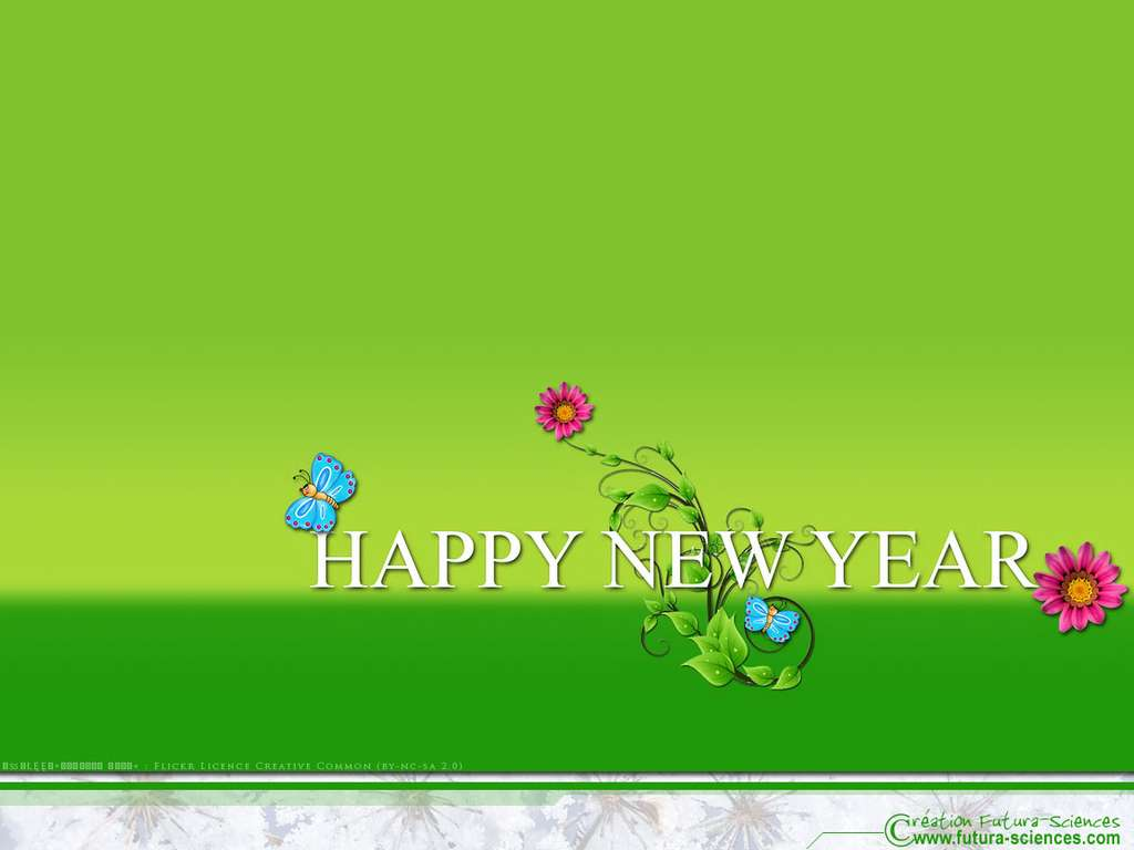 Bonne année, que 2016 soit écologique