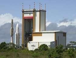 Bâtiment d'Assemblage Final d'Ariane 5 Crédits : Arianespace