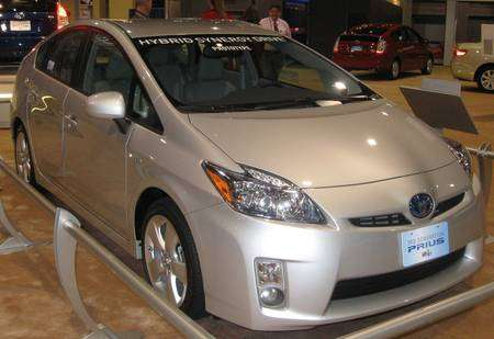 Toyota Prius, voiture propre emblématique de la conversion de la Silicon Valley aux clean tech © Wikipedia domaine public