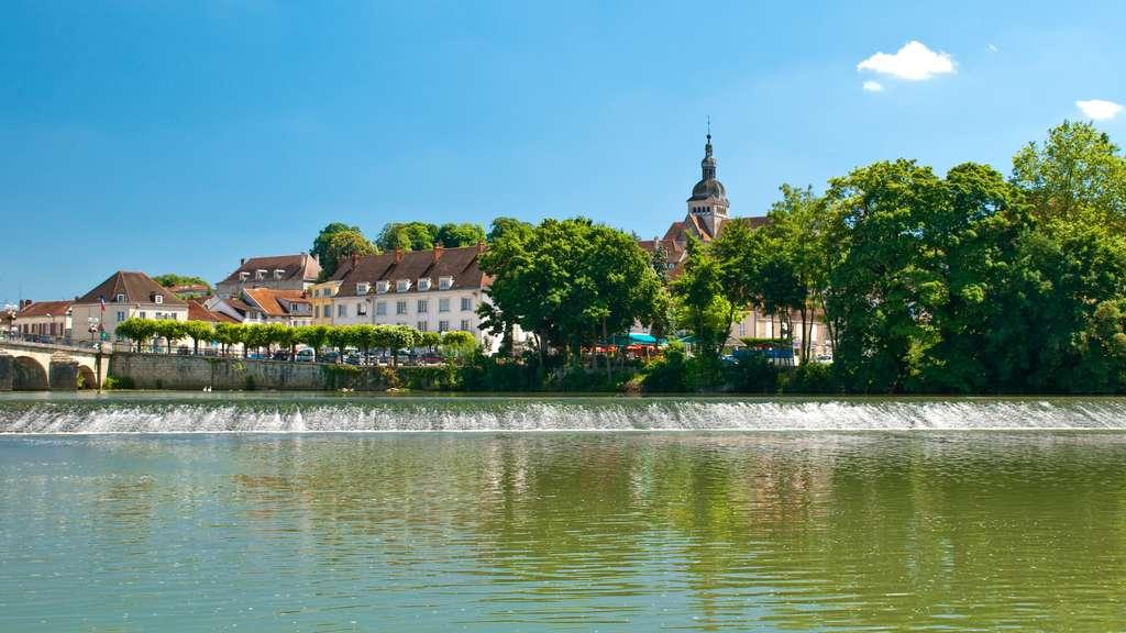Découvrons la géographie du département de la Haute-Saône. Ici, Gray, en Haute-Saône. © Olivier Poncelet, Fotolia