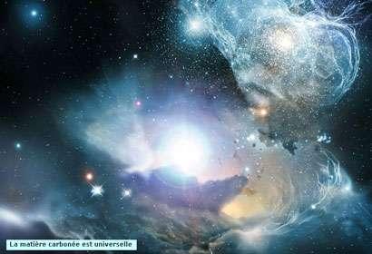 Le milieu interstellaire contient une centaine de molécules. Certaines d'entre elles seraient précurseurs des acides aminés. © DR