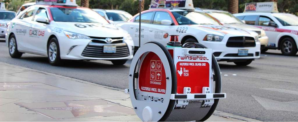 TwinswHeel, le robot porteur (catégorie Smart Business). © TwinswHeel