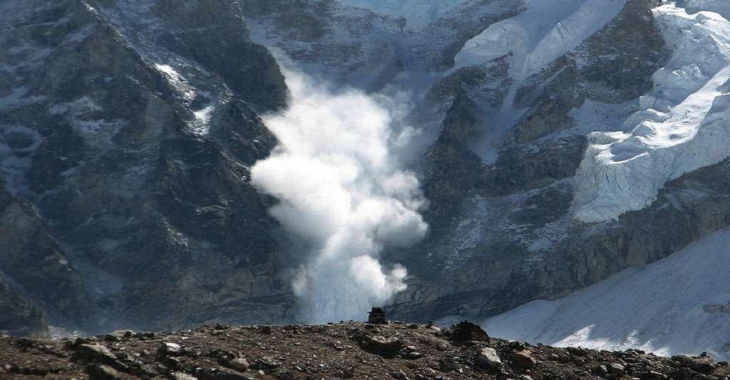 Coulée d'avalanche. © Skeeze, CCO