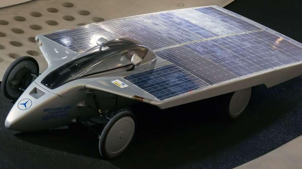 La voiture solaire de Mercedes