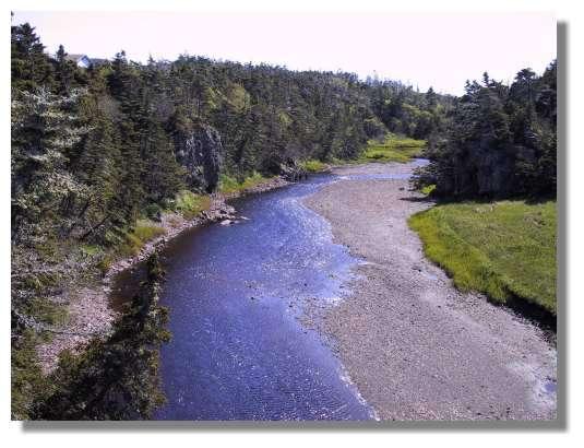 La Belle rivière de Langlade, qui porte bien son nom. © C. Marciniak
