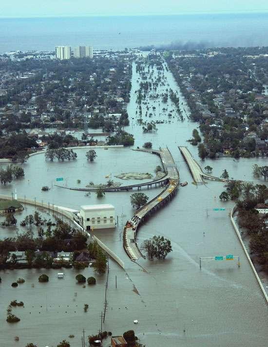 Dégâts du cyclone Katrina
