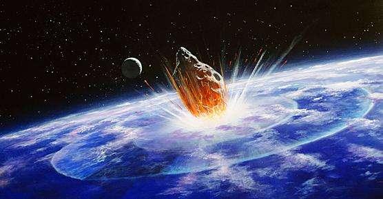 Quelque chose a heurté la planète Terre il y a environ 65,5 millions d'années. C'est une certitude. Mais la situation de la vie terrestre à cette époque et les effets de cet impact restent encore hypothétiques. © Nasa