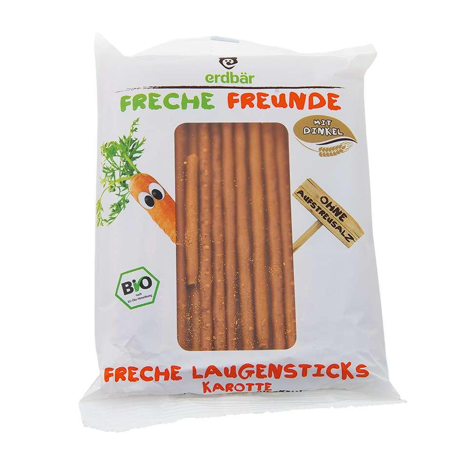 Snacks bretzels aux carottes. © SIAL Paris 2018