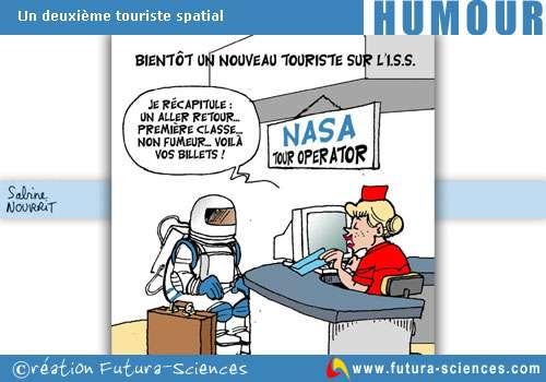Touriste sur l'ISS