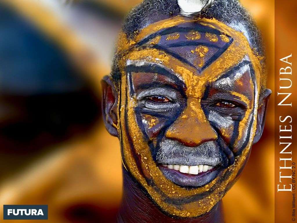 Nuba - Soudan Afrique