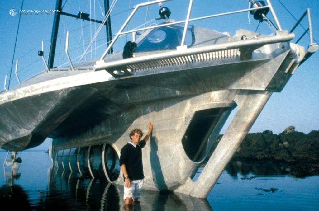 L'Aquaspace I, premier navire pour admirer la vie sous-marine