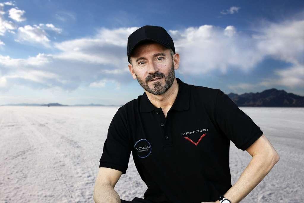 Max Biaggi est une légende de la course moto. © Courtesy of Venturi Max Biaggi Voxan