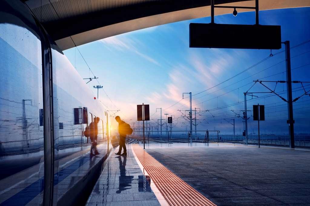 À quoi ressemblera le train du futur ? Les premières rames du train autonome devraient circuler dès 2025… © zhu difeng, Adobe Stock