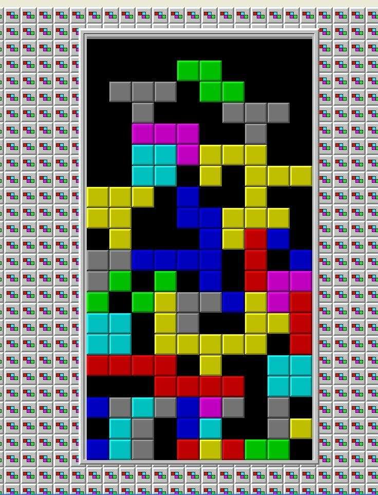 Pour ceux qui ont suivi l'expérience, jouer régulièrement à Tetris leur a permis de limiter leurs envies, selon les chercheurs. © limpa-vias.blogspot.fr cc by nc nd 2.5