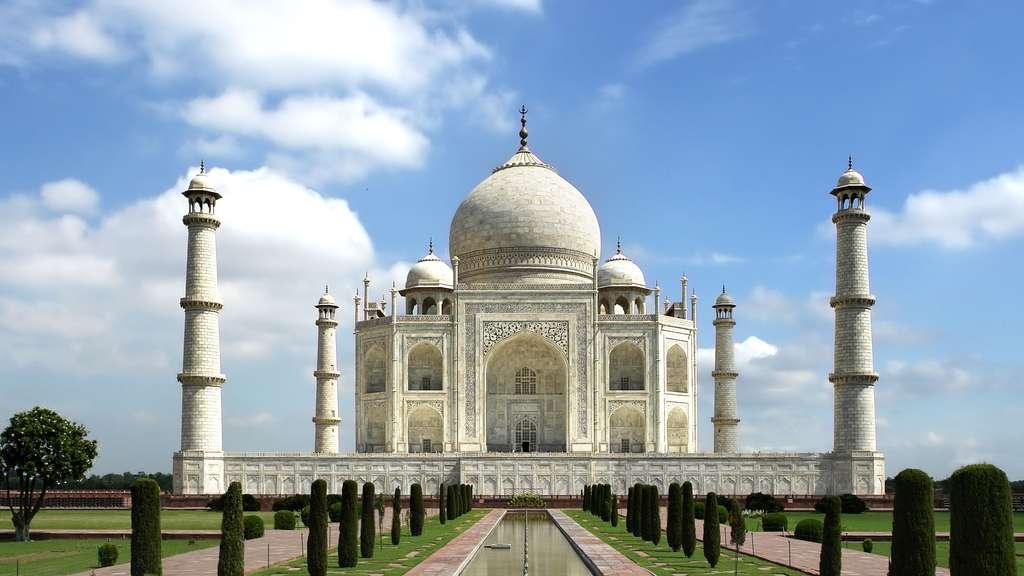 Le Taj Mahal, chef d'œuvre architectural absolu