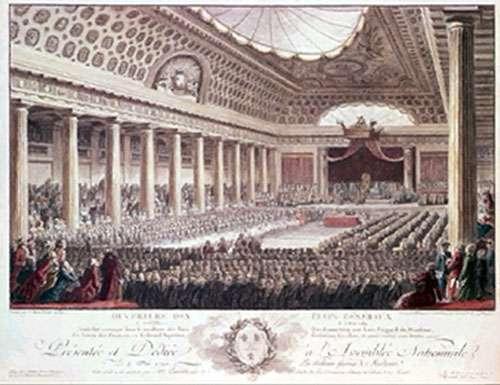 Ouverture des Etats Généraux, Versailles, le 5 mai 1789