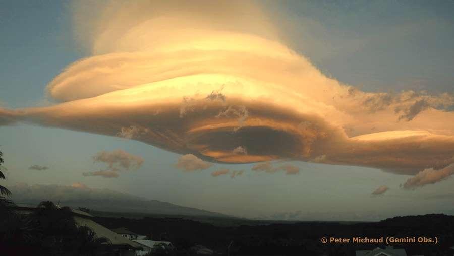 La formation du nuage lenticulaire