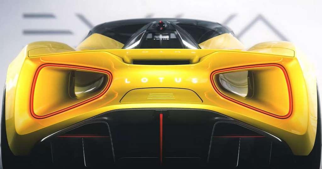 Jaune, rouge ou noire, la Lotus Evija ne laisse pas indifférent. © Lotus Cars